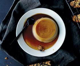 f29e1d7f59e Mildreds vegan espresso crème caramel. Photography by Matt Russell