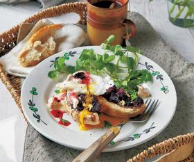 The Belfast breakfast from The Mushroom Cookbook