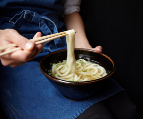 Udon noodles from Koya in the City