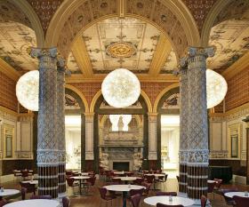 V&A Café; Photograph © Victoria and Albert Museum London