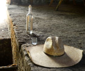 Mezcal in Oaxaca, Mexico. Photograph by Anna Bruce