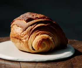 Croissant from Pophams Bakery