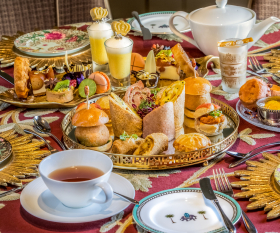 The afternoon tea at Taj 51