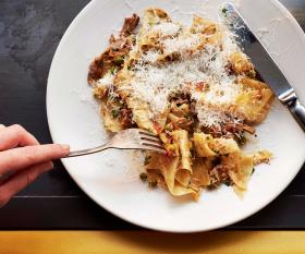 Bottomless pasta brunch at Palatino