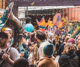 Mardi Gras at Pop Brixton
