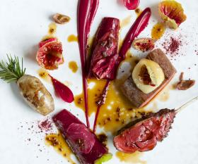A dish from The Ledbury
