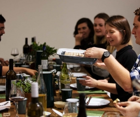 Foodism's Local Heroes supper club in Battersea