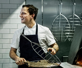 James Lowe, head chef at Lyle's in Shoreditch