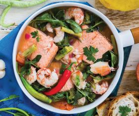 Make Jacqueline Chio-Lauri's seafood sinigang; photography by Rowena Dumlao-Giardina