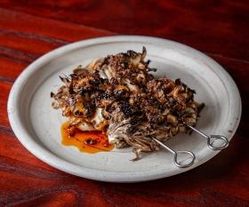 Xingjiang maitake mushroom at BAO Borough