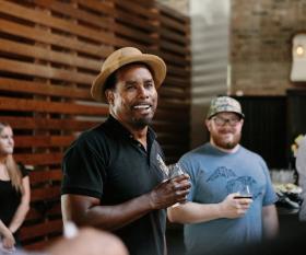 Garrett Oliver of Brooklyn Brewery