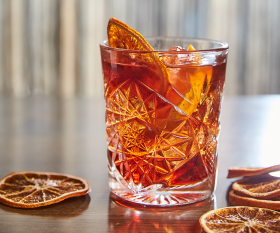 The negroni at Osteria