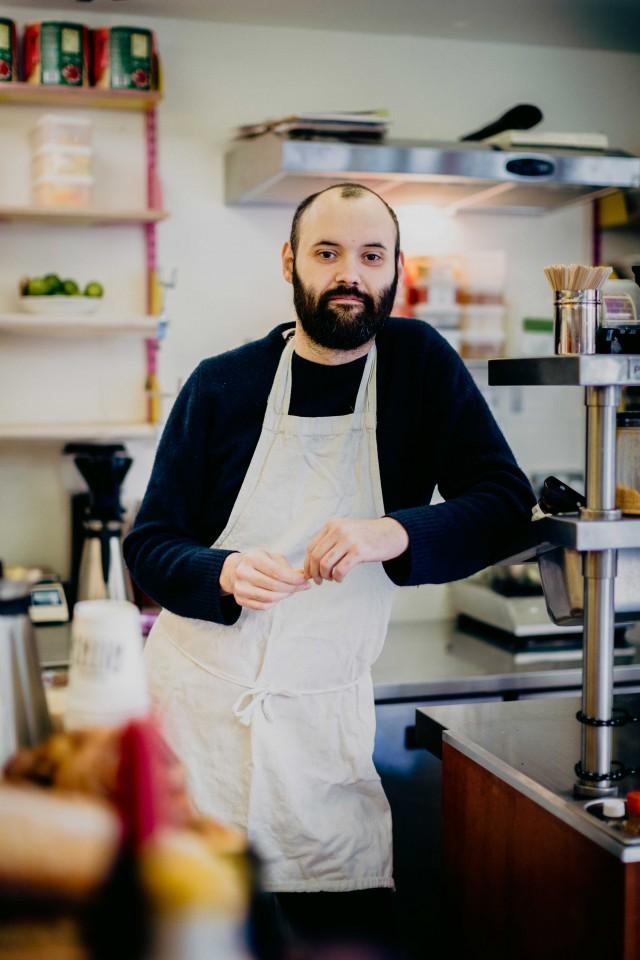 Gabriel Pryce at Bodega Rita's