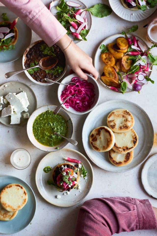 Anna Jones' secrets to one-pan cooking | Arepas