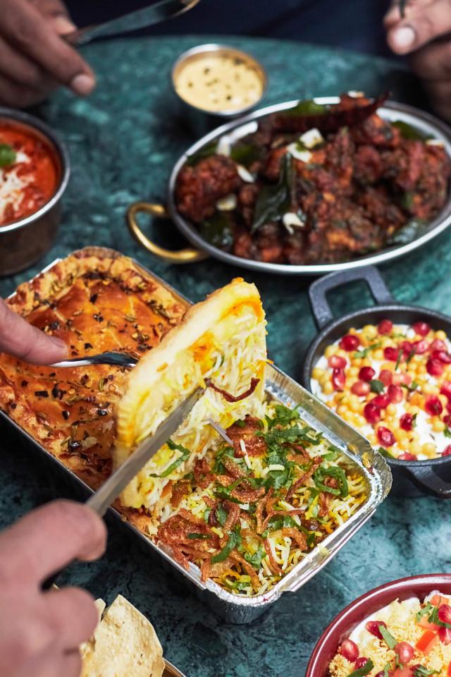 Empire Biryani meal kit review   the biryani