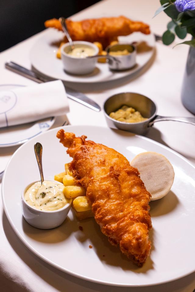 Restaurants Regent Street: Bentley's fish and chips