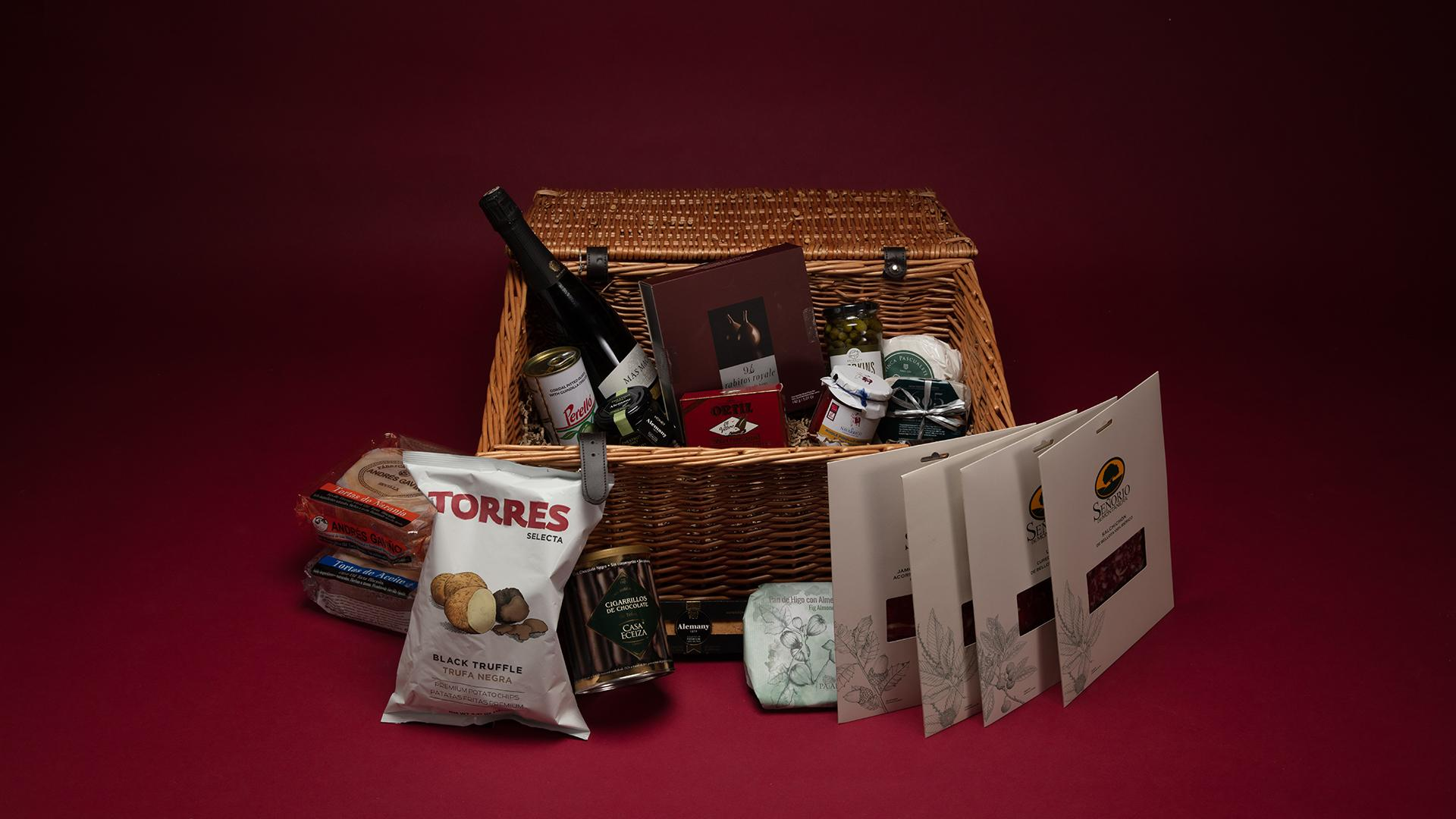 Christmas Hampers 2019: Brindisa Christmas Hamper, £150