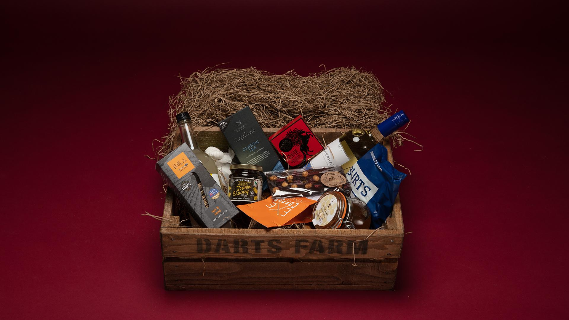 Christmas Hampers 2019: Darts Farm Luxury West Country Hamper, £99