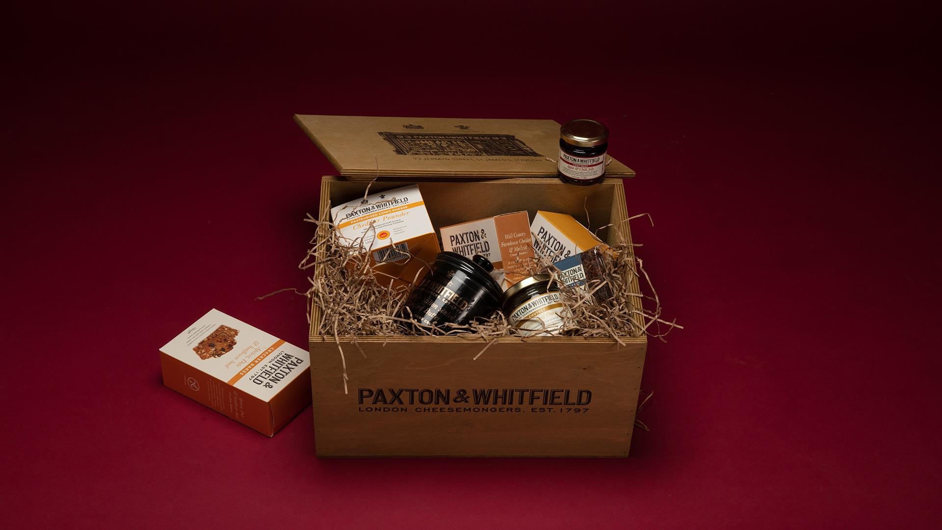 Christmas Hampers 2019: Paxton & Whitfield – The Piccadilly Hamper, £100