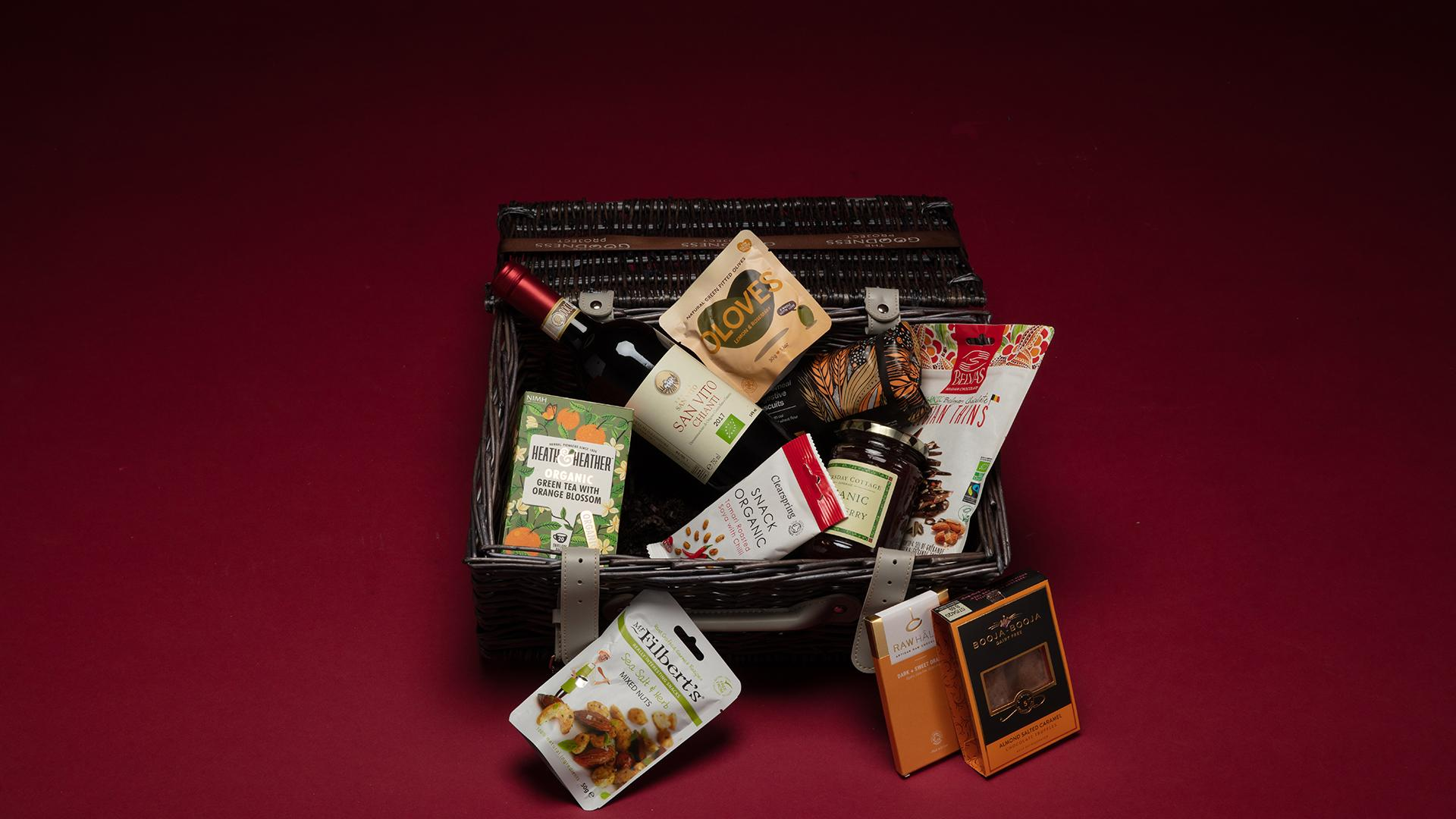 Christmas Hampers 2019: The Goodness Project Vegan Hamper, £75