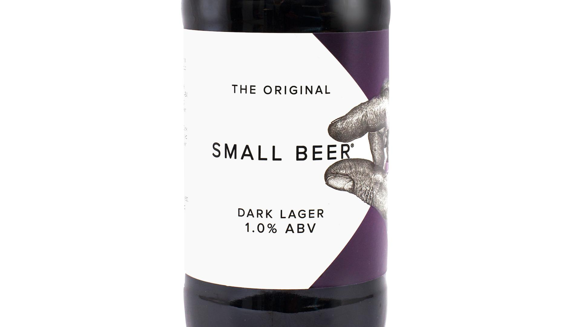 Non Alcoholic Beers London – Small Beer Brew Co.'s Dark Lager – 1.0% ABV