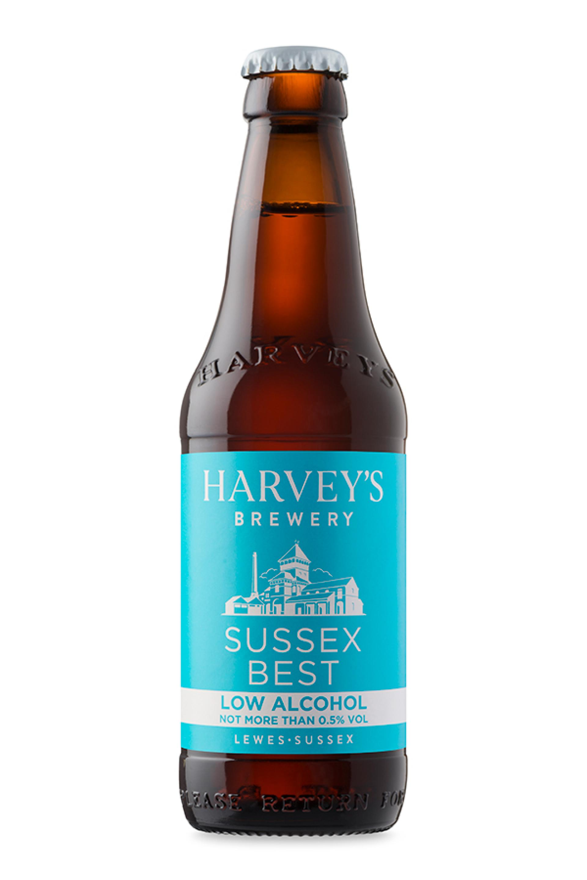 Non Alcoholic Beers London – Harvey's Brewery's Low Alcohol Sussex Best Bitter – 0.5% ABV