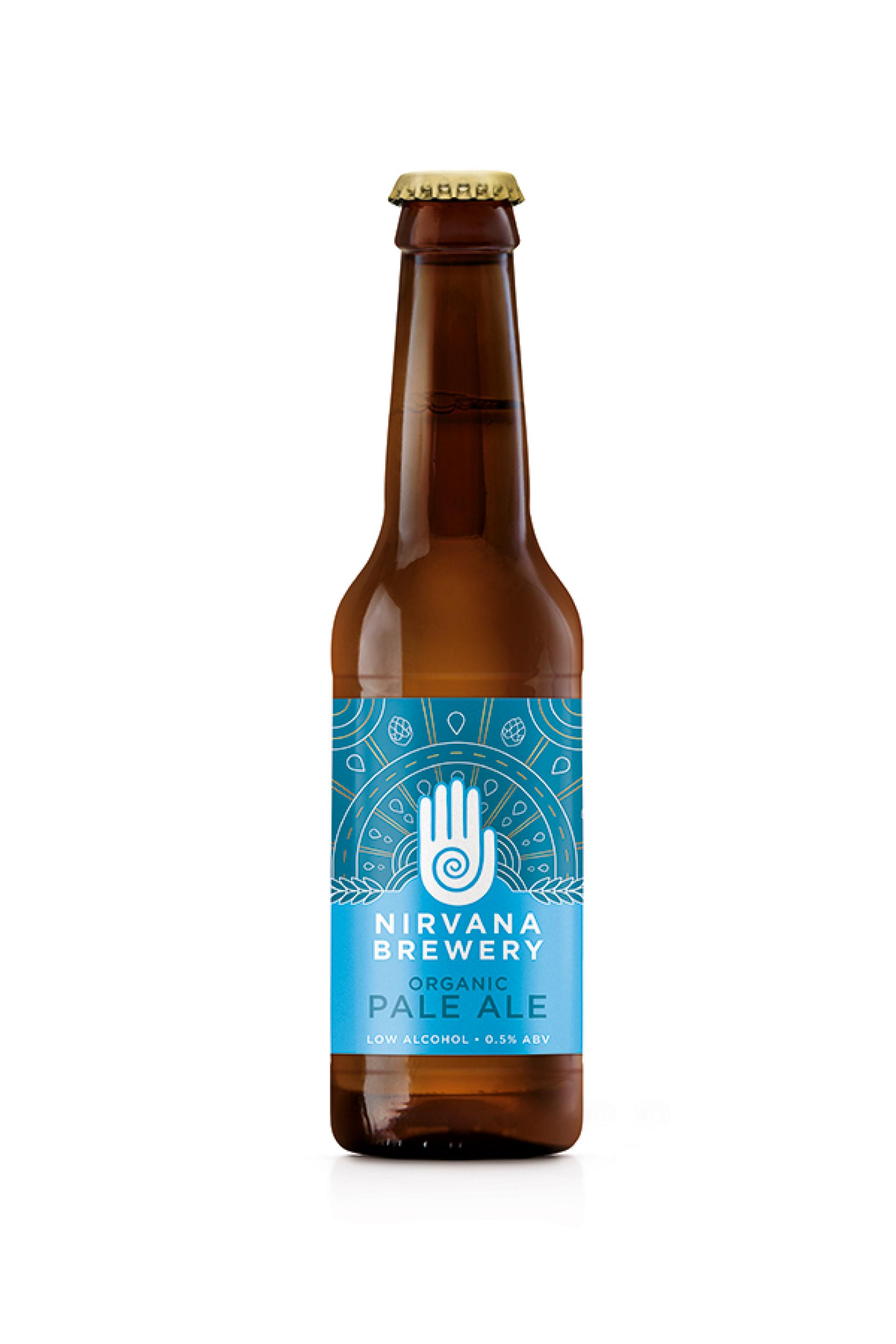 Non Alcoholic Beers London – Nirvana Brewery's Organic Pale Ale – 0.5% ABV