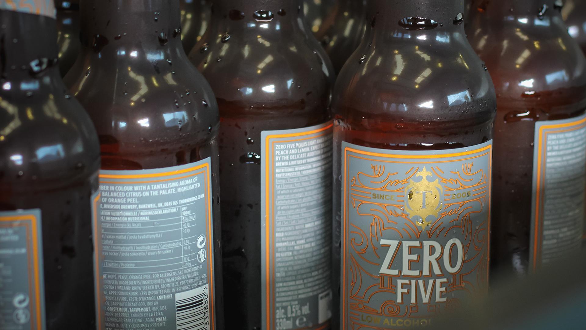 Non Alcoholic Beers London – Thornbridge Brewery's Zero Five – 0.5% ABV