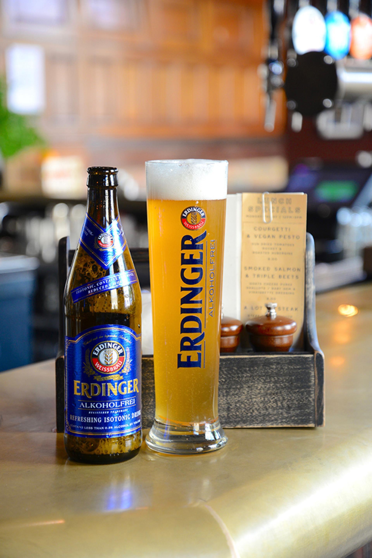 Non Alcoholic Beers London – Erdinger's Alkoholfrei – 0.5% ABV