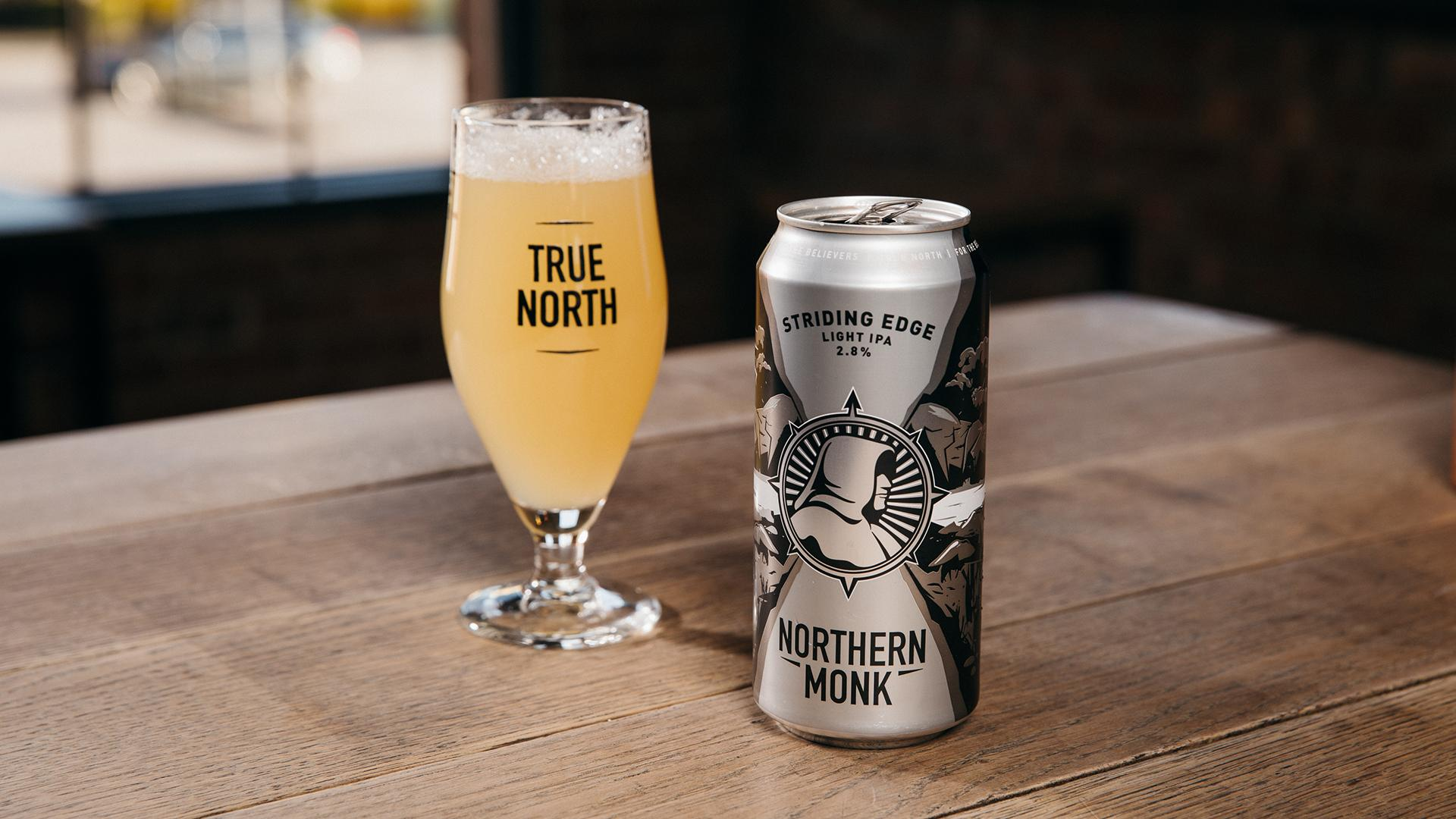 Non Alcoholic Beers London – Northern Monk's Striding Edge Light IPA – 2.8%