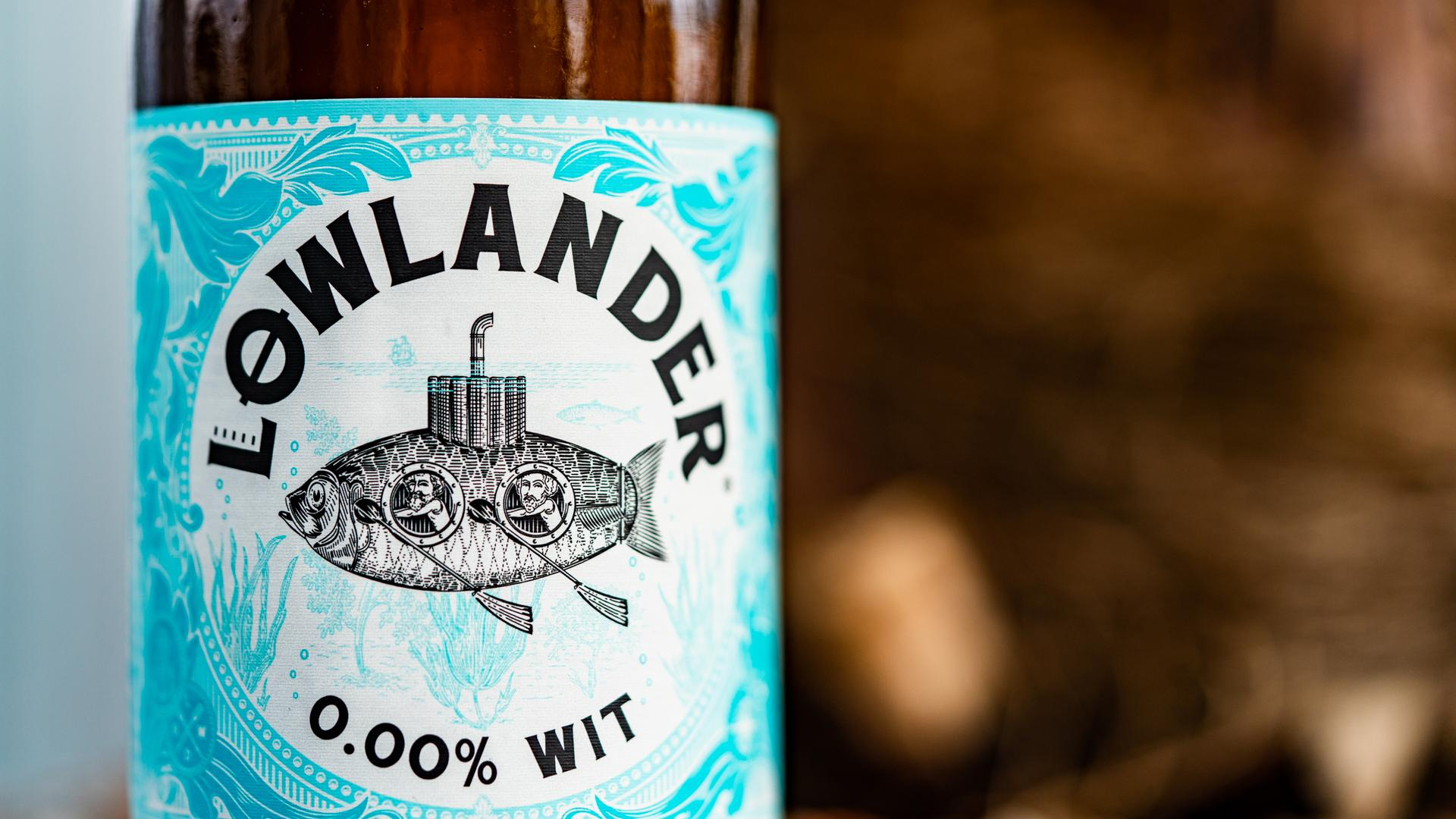 Best Non Alcoholic Beers London – Lowlander's Wit – 0.0% ABV