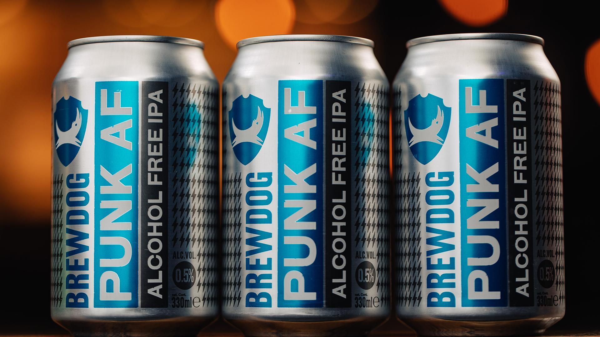 Best non alcoholic beers London – BrewDog Punk AF