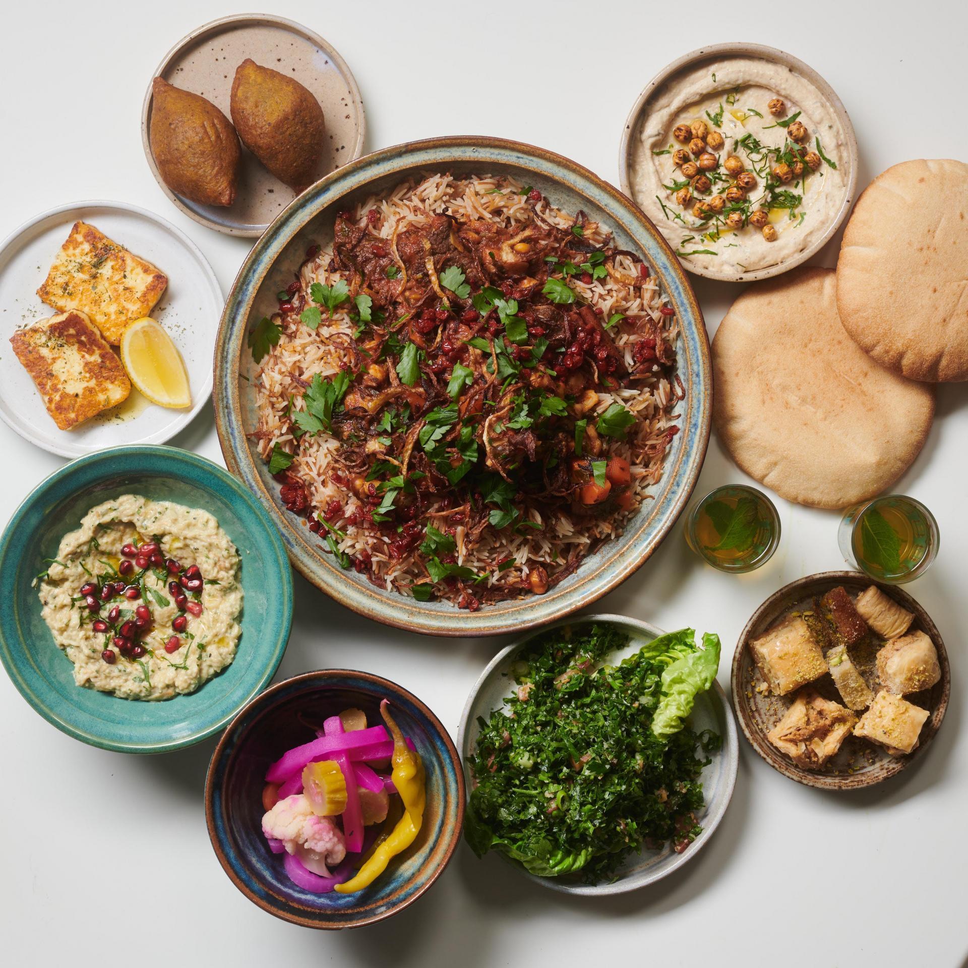 Restaurant meal kit: Arabica's Feast for Beirut