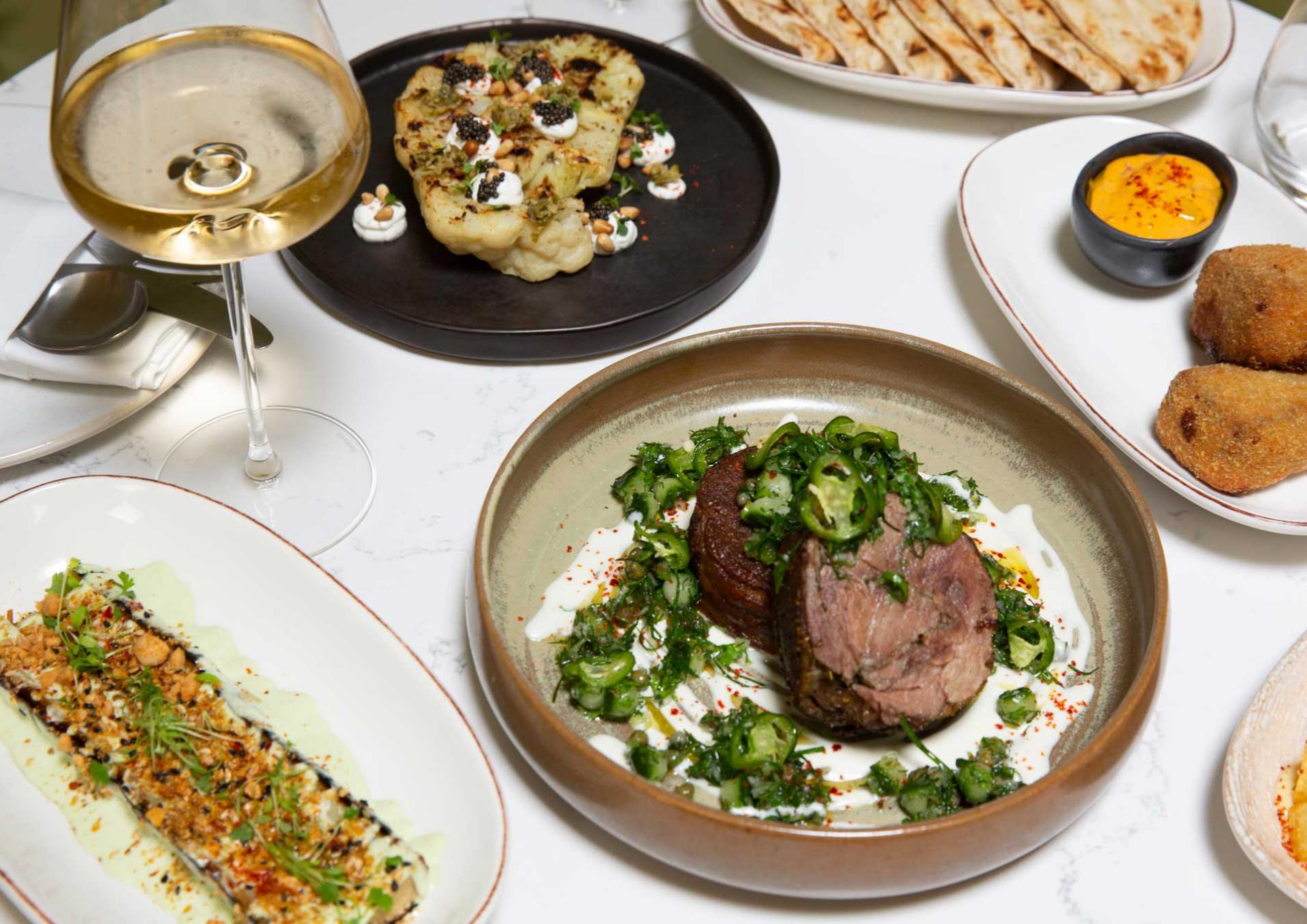 Restaurant meal kits: Ampeli