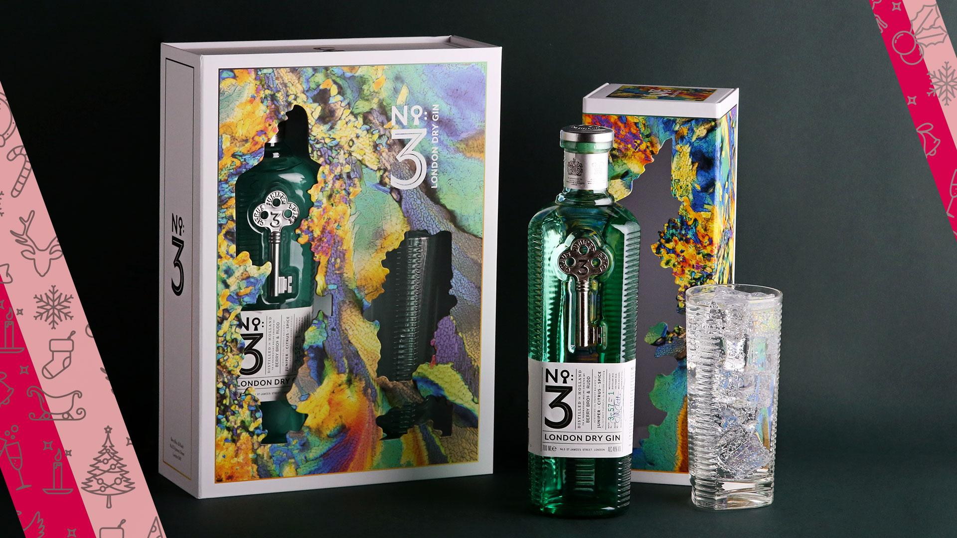 Food and drink Christmas gifts: No3 gin gift set