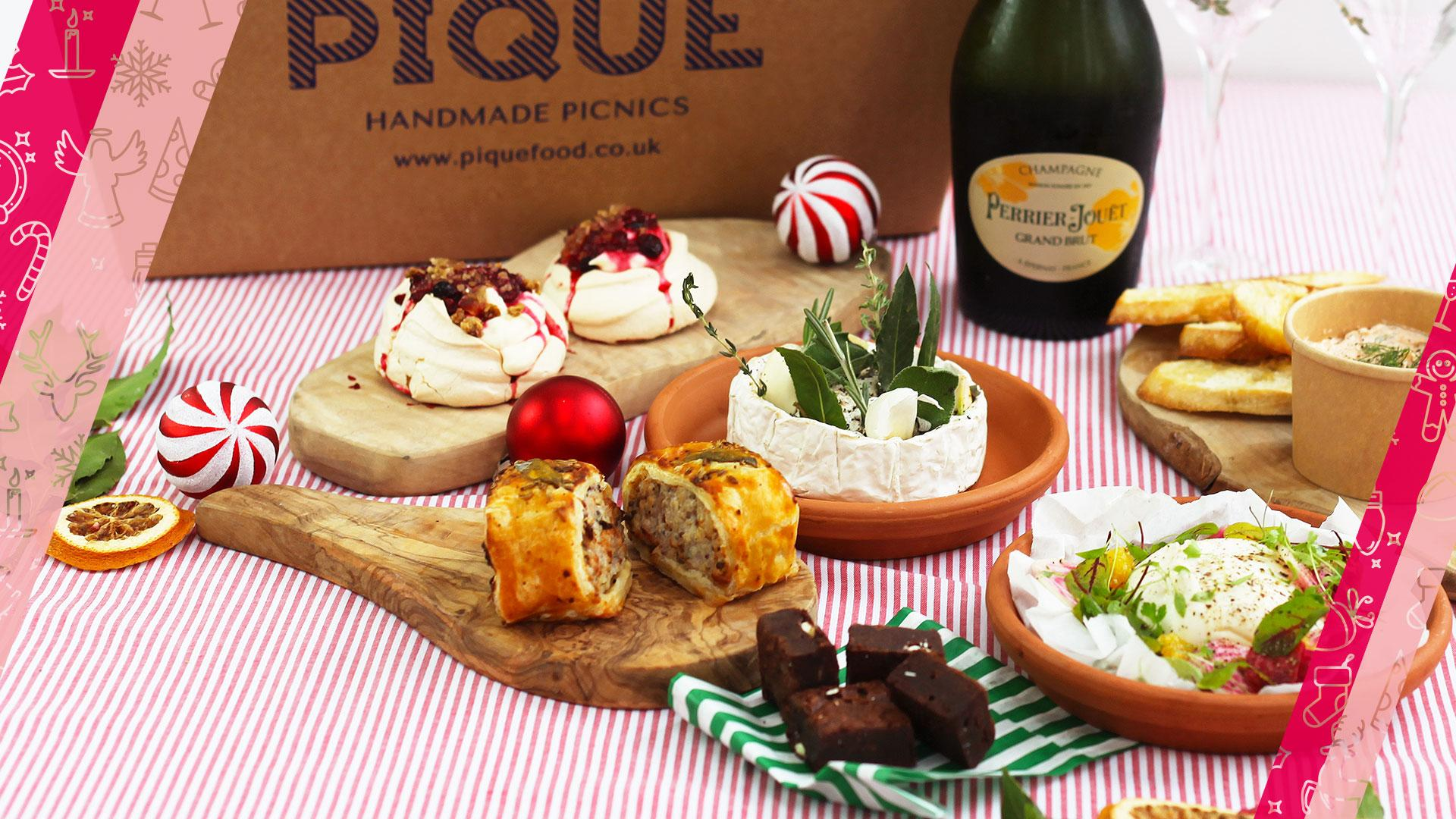 Food and drink Christmas gifts:Pique Nique x Perrier Jouet