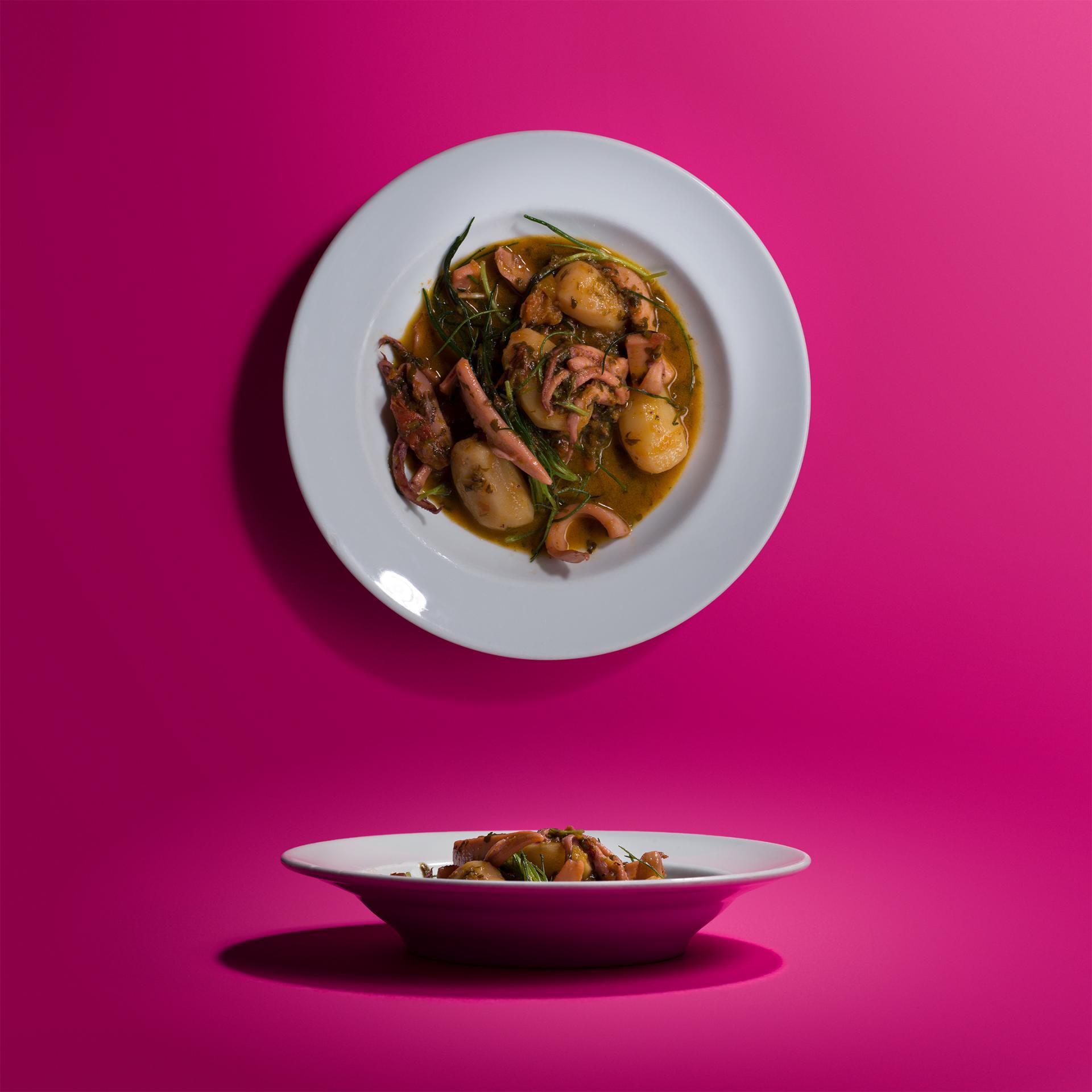 Margot Henderson's braised squid and potato