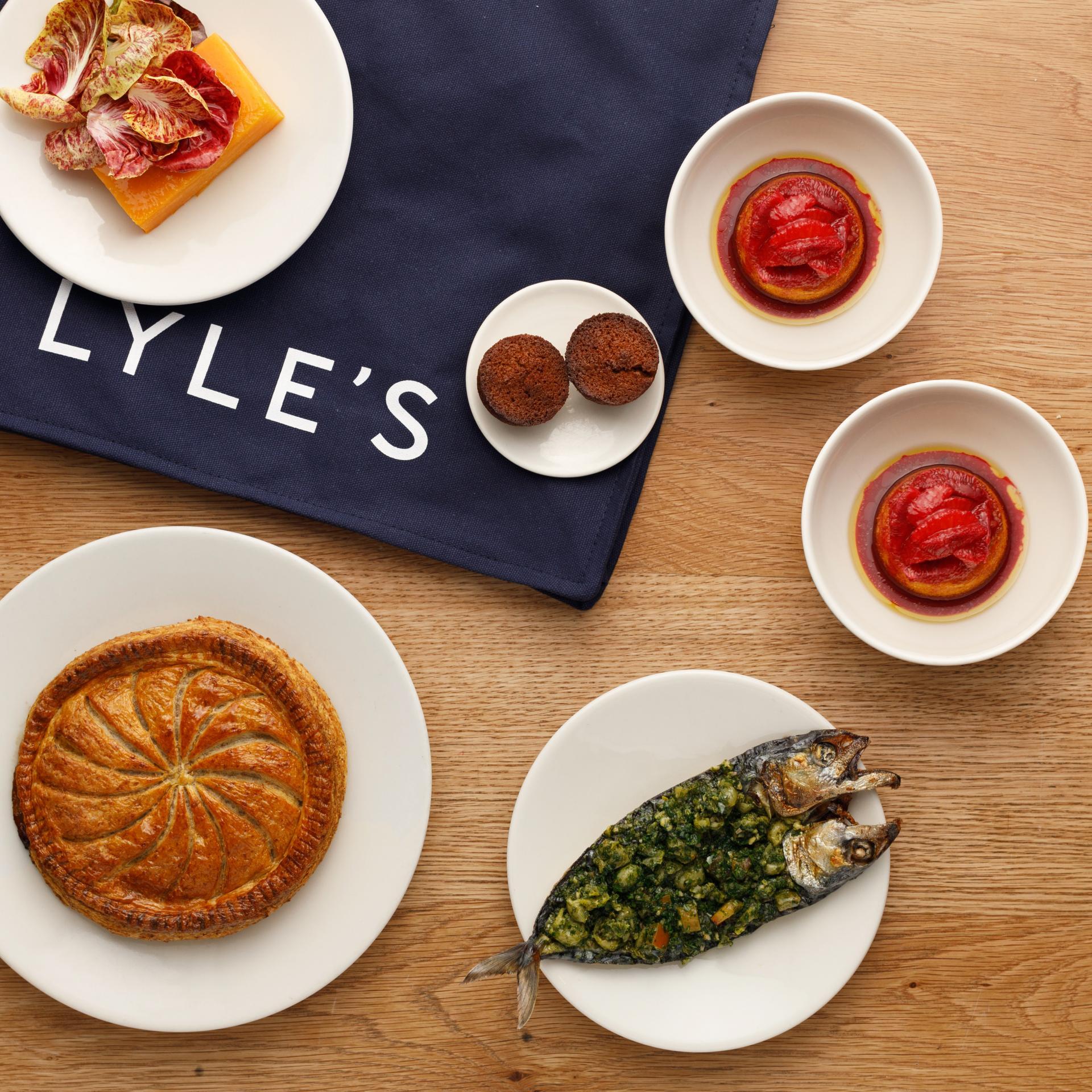 Lyle's mid week meal kit