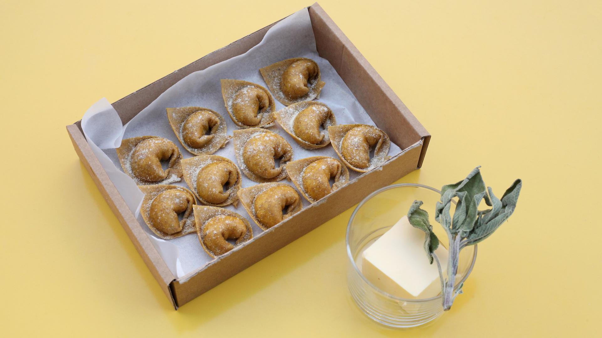 Restaurant meal kits: Burro e Savlia x Wildfarmed Grain fresh pasta kit