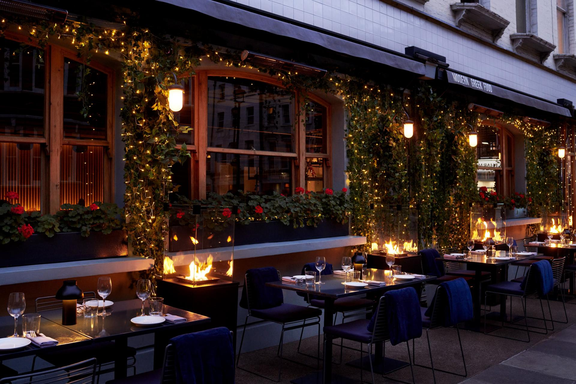 London's outdoor restaurants | Opso Marylebone