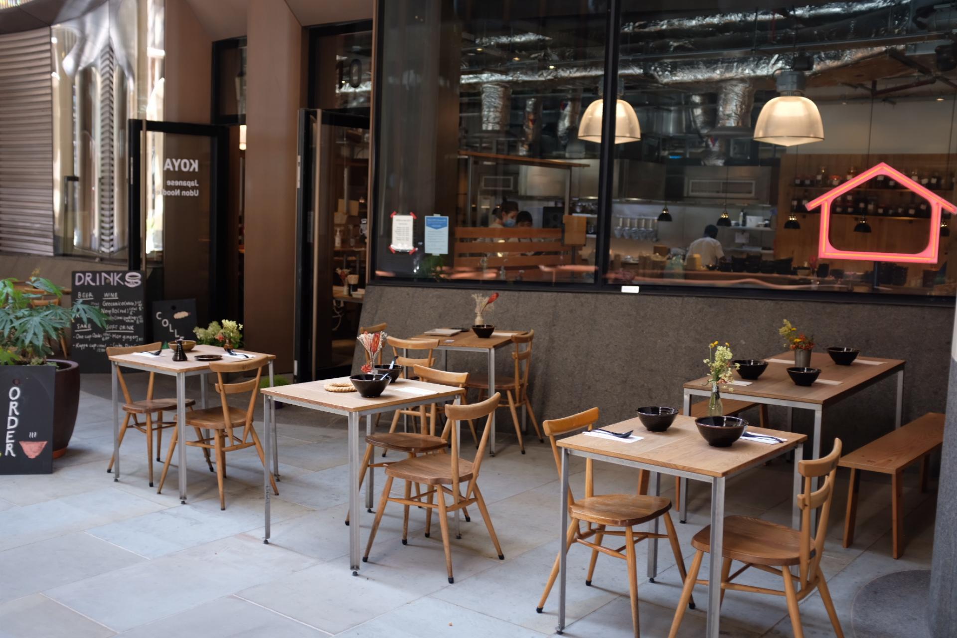 London's outdoor restaurants | Koya City