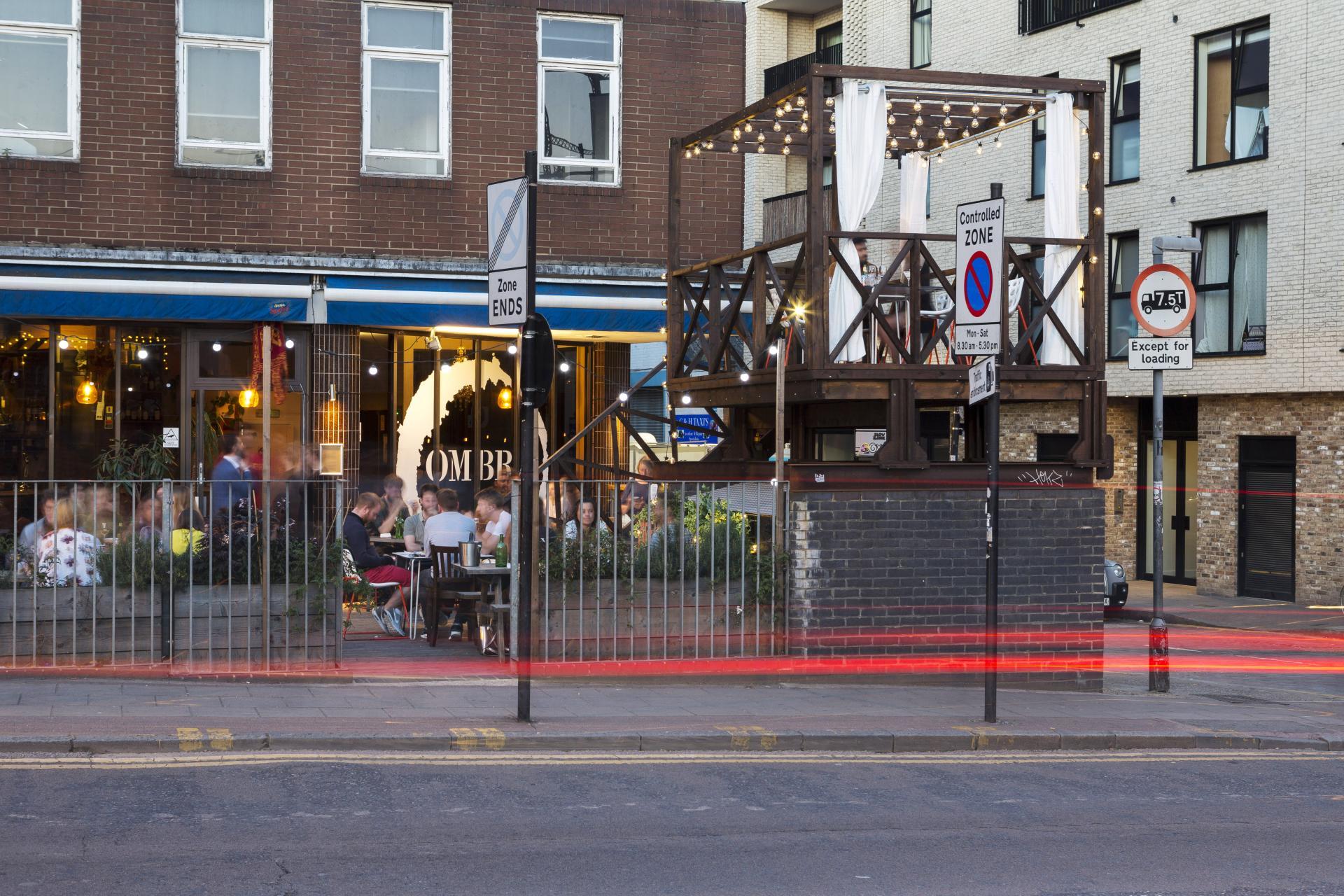 London's outdoor restaurants | Ombra, Hackney