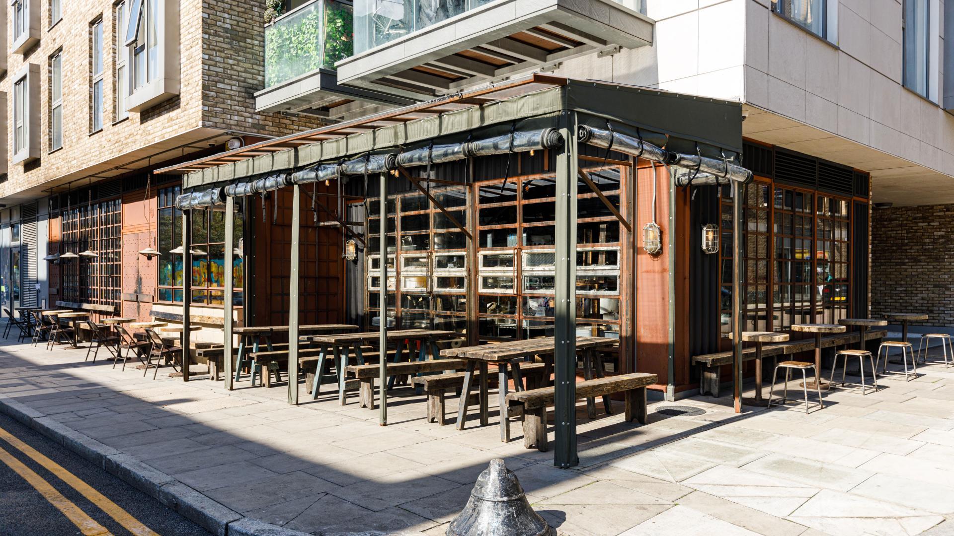 London's outdoor restaurants | Smokestak