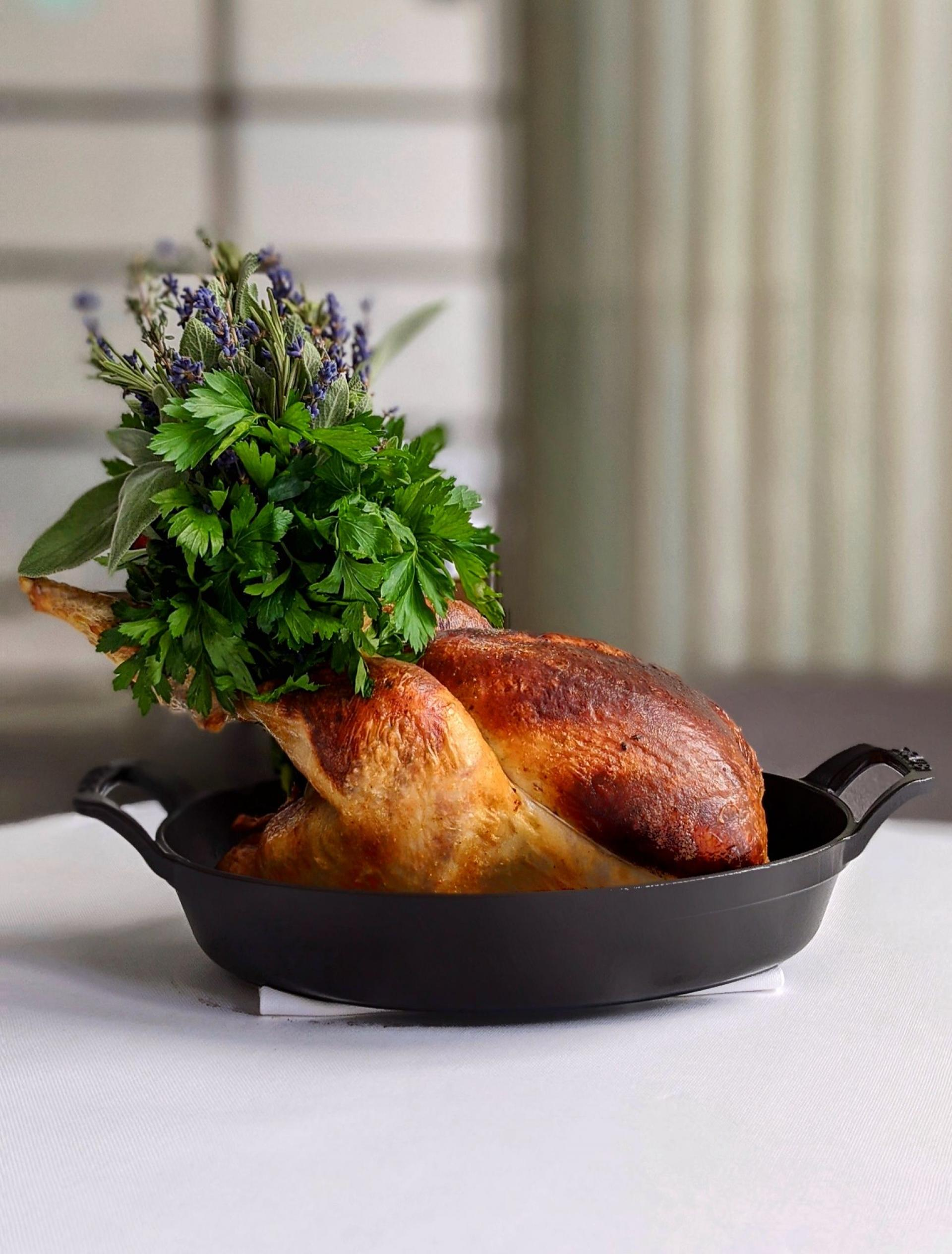 Roast chicken London: Daniel Humm from Claridge's Davies & Brook