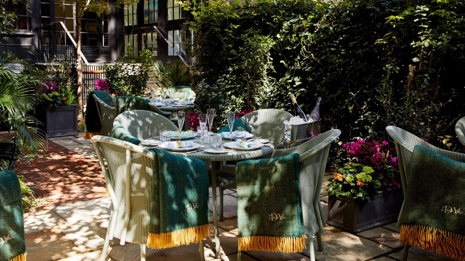 Summer events London 2021: Della Vite terrace at The Goring