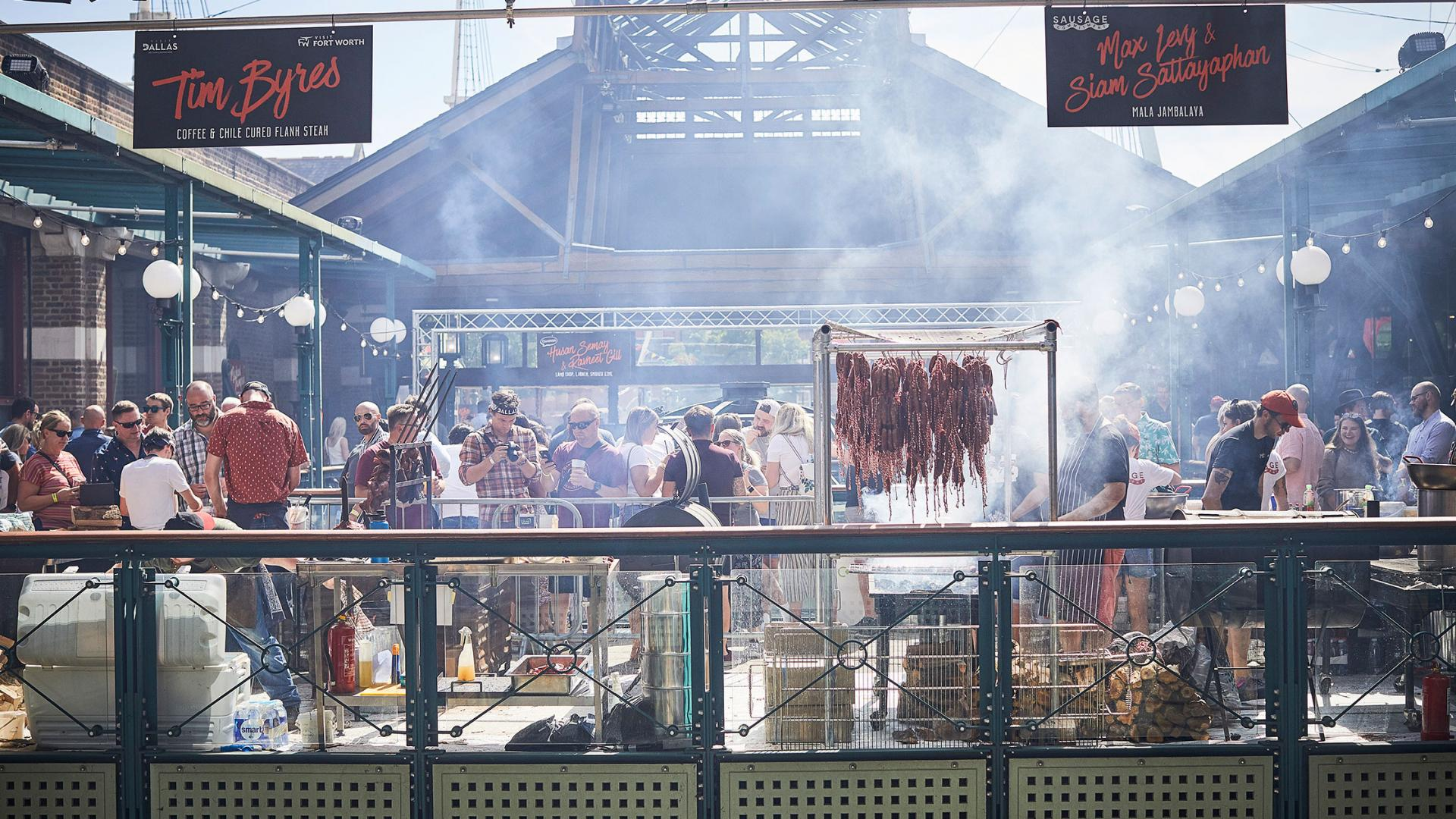 Summer events London 2021: Meatopia at Tobacco Dock