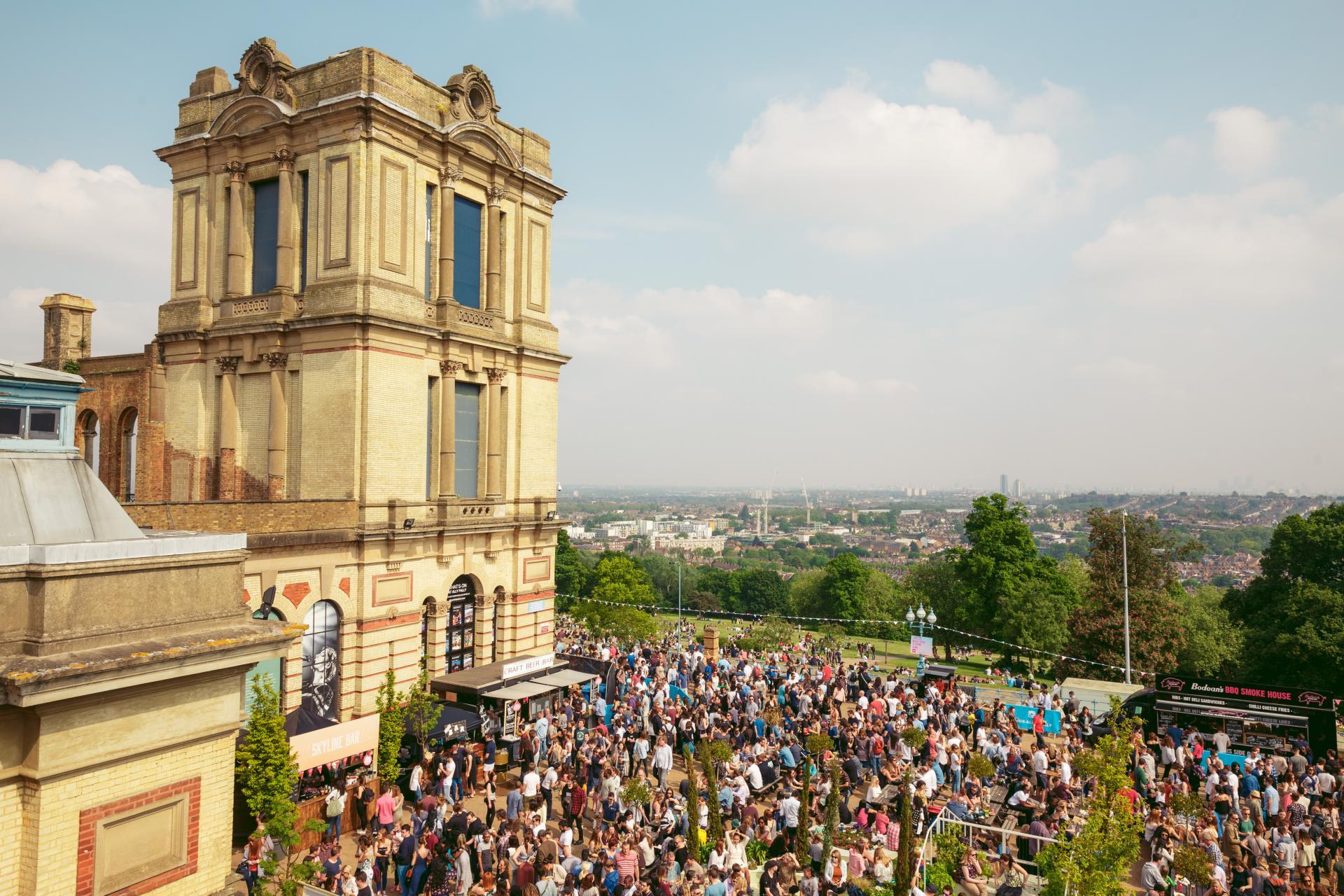 Summer in London: StrEATlife at Alexandra Palace