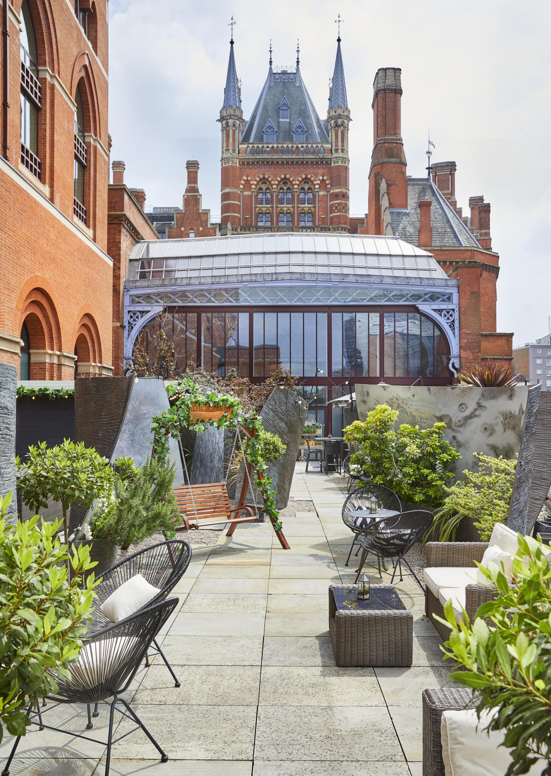 Summer in London: The Botanist roof terrace