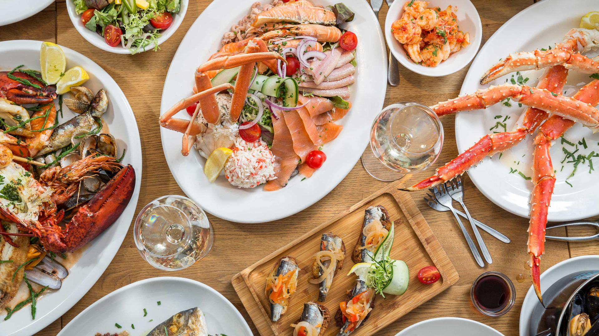 London's best seafood restaurants: The Seafood Bar