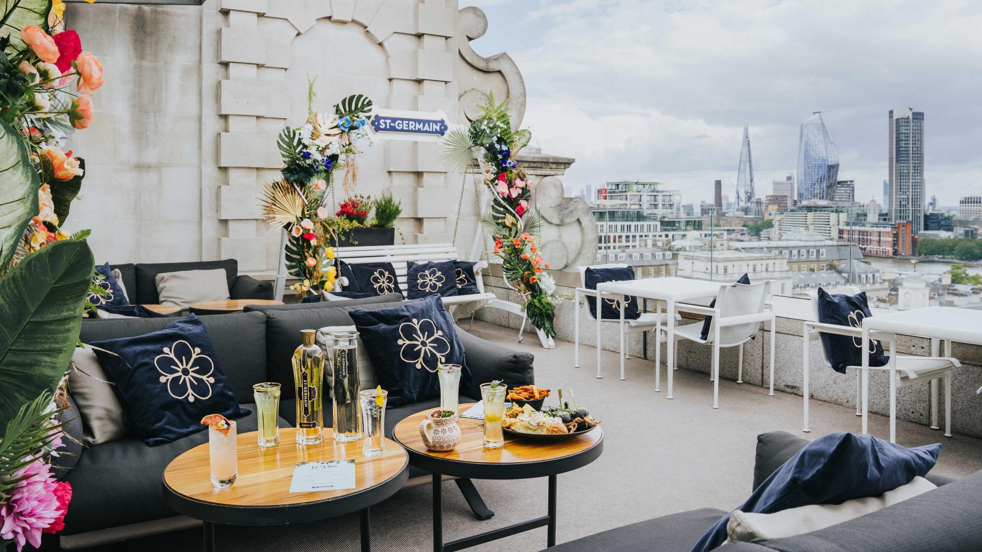 Summer in London: St Germain's terrace